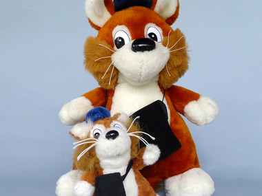 Plush mascot Parkolino available at our shop